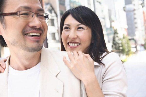 40代の幸せ夫婦