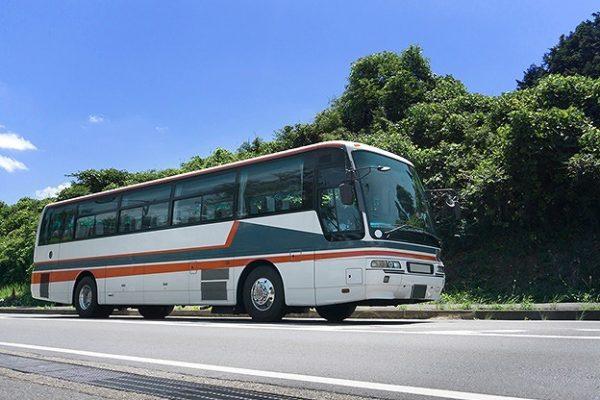 バスで観光