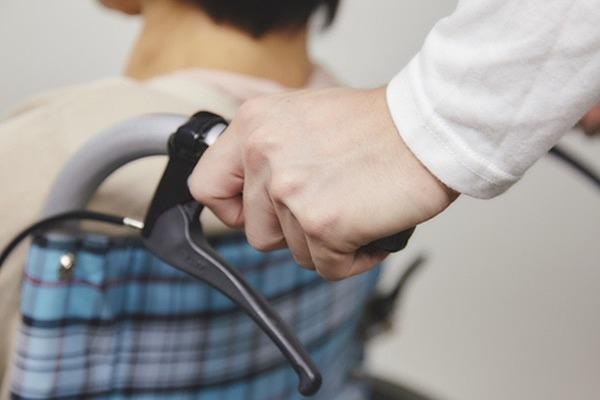 車椅子のフォロー