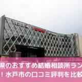 茨城県のおすすめ結婚相談所15選!水戸市の口コミ評判を比較【2021年版】