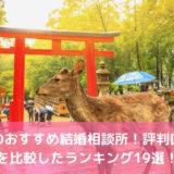 奈良のおすすめ結婚相談所!評判口コミを比較したランキング19選!