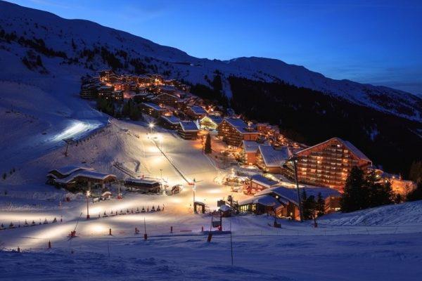 スキー場の施設