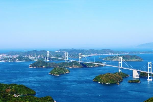 来島海峡大橋の景色
