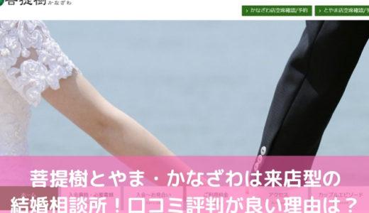 菩提樹とやま・かなざわは来店型の結婚相談所!口コミ評判が良い理由は?