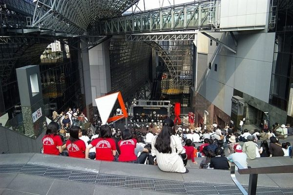 京都駅大階段